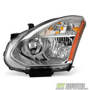 For 2008 2013 Rogue Halogen Model Headlight Headlamp Replacement Lh Driver Side