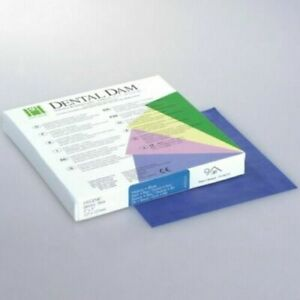 Coltene Whaledent Rubber Dam Sheets Non latex Extra Strength size 5x5 Dental