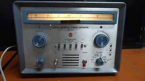 Vintage Rca Crystal Calibrated Marker Generator Model Wr 99a