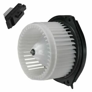 A c Ac Heater Blower Motor W Fan Cage Resistor Kit For Buick Chevy Pontiac