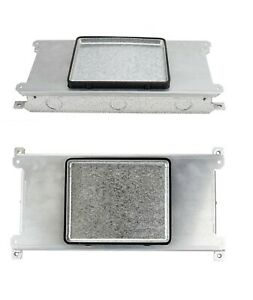 Wiremold Legrand Rfb2ssjcp Shallow Steel Recessed Electrical Floor Enclosure Box