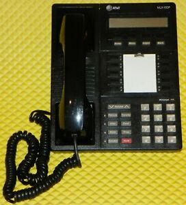 At t Office Phone Black 10 line With Display Mlx 10dp Excellent Condition