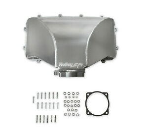 Holley 300 282 Hi ram 105mm Fabricated Side Mount Plenum Top Fit 86 95 Ford 5 0l