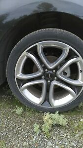 A Set Of 4 2014 Ford Edge Sport Wheels Tires 265 40r22 All For 450