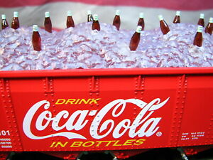 K-line K623-5101 Coca-Cola Coke Bottles on Ice Die Cast Hopper Car 6235101 Mint