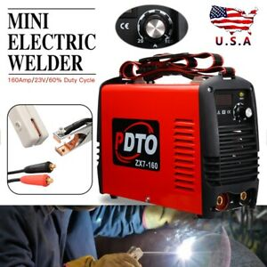 Mini Igbt Arc Welding Machine Mma Electric Welder 110v 230v 20 160a Dc Inverter