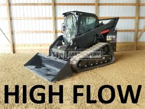 2014 Caterpillar 299d Cab Heat Air Track Skid Steer Loader Cat 299d