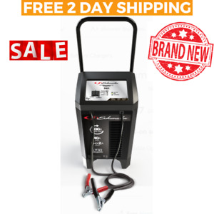 Car Battery Charger Portable Jump Starter Automotive Wheeled Dead 200amp Power