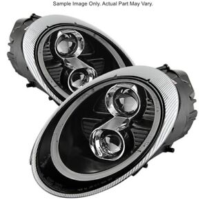Spyder 5080103 Drl Led Projector Headlights For 05 09 Porsche 911 997