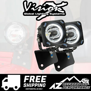 Vision X Vspec Upgrade A Pillar Light Kit For 97 06 Jeep Wrangler Tj 9892818