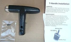 Shifter T handle 1971 74 Cuda Challenger E body Charger Console Shift T Handle