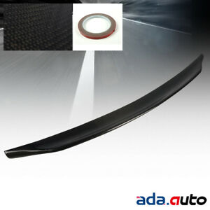 Fit 2008 2015 Mitsubishi Lancer Evo 10 100 Real Carbon Fiber Rear Trunk Spoiler