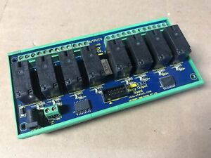 Elexol 8 channel Relay Output Board E154554 Clean Fast Shipping