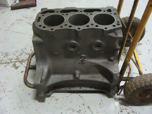 4000 Ford Tractor Engine Block Reman Ready To Go