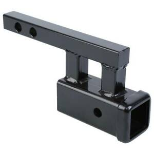1 25 To 2 Rise Or Drop Trailer Hitch Towing Extension Adapter