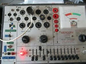 Calibration Service For Mercury 2000 Tube Tester read Description Carefully