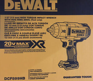Dewalt Dcf899hb 1 2 High Torque Hr Impact Wrench Bare Tool
