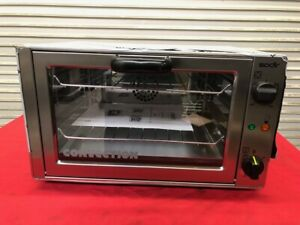 New Counter Top Convection Oven 1 4 Sheet Electric Equipex Sodir Fc26 2821