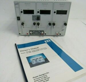 Power Designs Tp 1800 Triple Output Laboratory Regulated Dc Power Supply 10 3