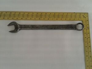 Snap on Tools Large Size Combination Wrench Box open 1 1 4 Usa
