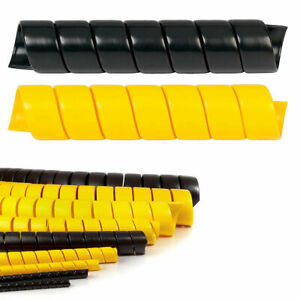 Heavy Duty hdpe Spiral Wrap 1 2 5 Size Options Protect Hoses Cables