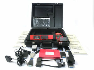Snap On Mt2500 Scan Tool Scanner With Case Adapter Cables And Manuals 7400