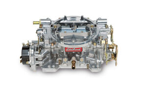 Edelbrock 1406 Performer Series 600cfm Square Flange Electric Choke Carburetor