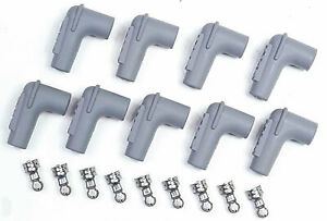 Msd 8850 90 Degree Spark Plug Boot Term Kit For 8 5mm Wire