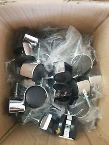 50 Office Chair Stem Twin Wheel 2 Caster Replacement 7 16 Grip Ring Style Set