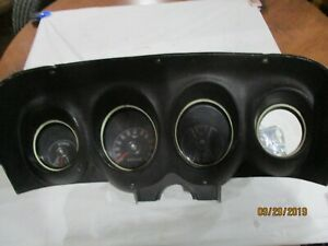 1969 70 Ford Mustang Dash Gauge Cluster
