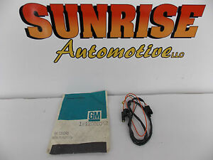 Gm 12026042 Digital Clock Wire Assembly 1978 79 80 81 82 83 84 Chevy Gmc Pickup