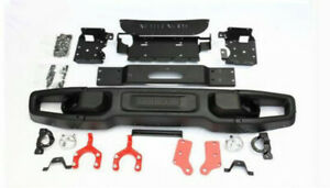 New Jk Wrangler Rubicon10th Anniversary Style Front Bumper For 07 18 Jeep Metal