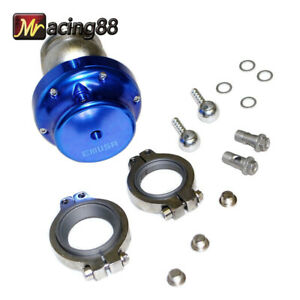 Blue Uniersal 38mm V band14psi Wastegate Mazda Toyota Sicion Dodge Acura New