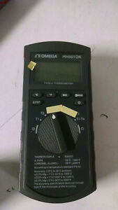 Omega Hh501dk Handheld Thermocouple Readout Type K Range 50 c To 1300 c