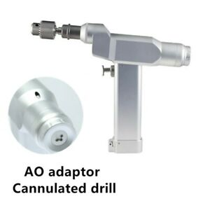 Orthopedic Surgical Canulate Bone Drill Cannulated Drill With Ao Adaptor Nd 2011