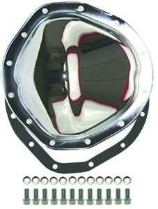 Chrome Steel Chevy Gmc Truck 12 Bolt Rear Differential Cover Kit 1963 1987 C 10
