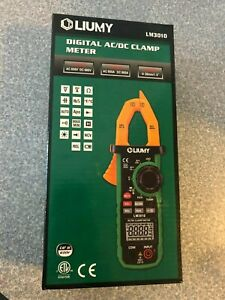 Liumy Digital Ac dc Clamp Meter Lm3010 New In Box
