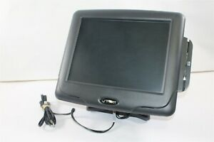 Radiant Systems P1515 Pos Touchscreen Terminal W Credit Card Reader