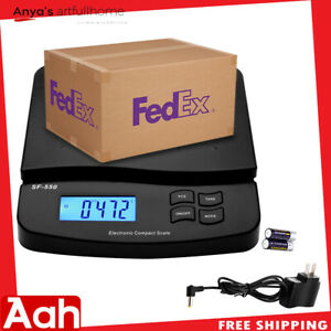 66lb X 0 1oz Digital Postal Shipping Scale Weight Postage Counting 30kg adapter