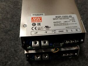 Meanwell Rsp 1000 48 Power Supply 2 Per Order