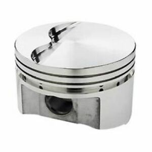 Srp 138094 Flat Forged Pistons 4 040 Bore 8 Set For Small Block Chevy 350 400