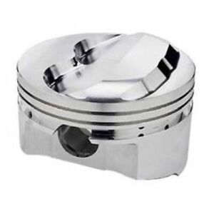 Srp 140349 Forged Dome Pistons 4 040 bore Set Of 8 For Small Block Chevy 350 400