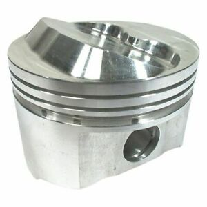 Srp 142022 Forged Dome Pistons 4 165 bore Set Of 8 For Small Block Chevy 350 400
