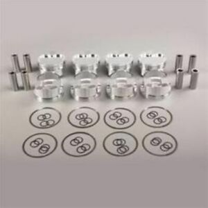 Srp 138104 Forged Dish Pistons 4 040 Bore 8 Set For Small Block Chevy 350 400