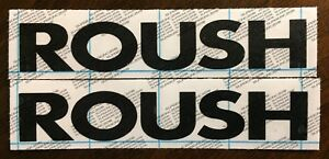 Roush Decal Sticker Mustang F 150 P 51 Rs 18 Colors To Choose From