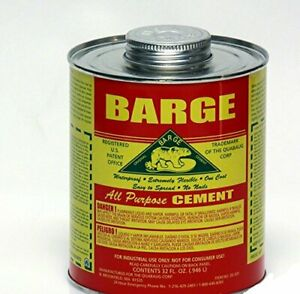 Barge All Purpose Cement Rubber Leather Shoe Waterproof Glue Quart o22721