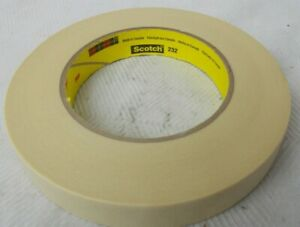 Masking Tape Scotch 232 3m Tan 0 70 In X 60 1 Yds 1 Roll