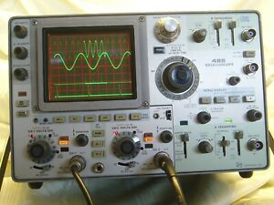Tektronix 485 Oscilloscope 43 Fail Prone Caps Replaced Calibrated Warranteed