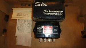 Nos Sun Eb9a Tachometer Transmitter 12 Volt 8 Cyl Use With 500 700 Model Tachs