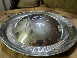 1953 Chevy 15 Wheel Cover Hub Cap Retro Decor Vintage 1950s Dogdish Hubcap